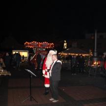 TAS op Kerstmarkt Zetten - kerstman